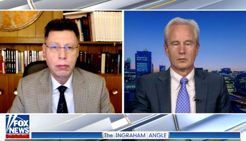 Screen capture from Fox News