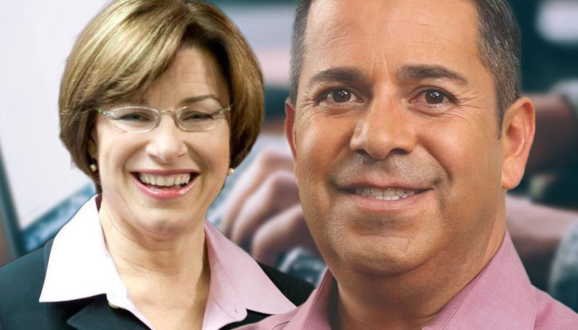 Amy Klobuchar and Ben Ray Luján