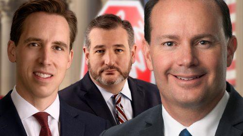Josh Hawley, Ted Cruz and Mike Lee