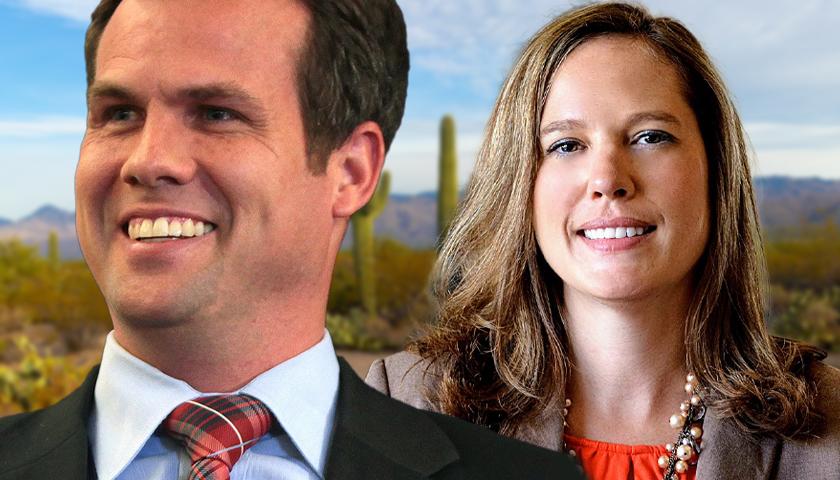 Warren Petersen and Shawnna Bolick