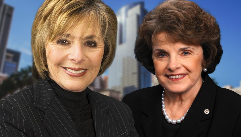 Barbara Boxer and Dianne Feinstein
