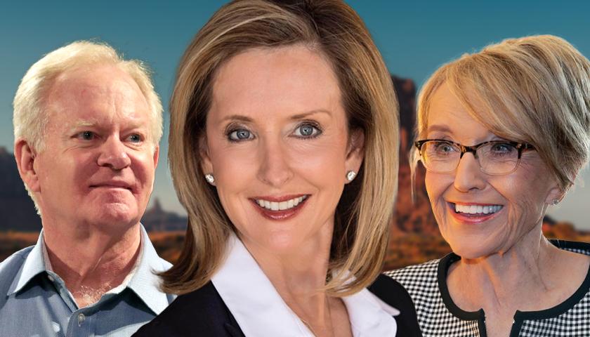 Fife Symington, Karrin Taylor Robson and Jan Brewer