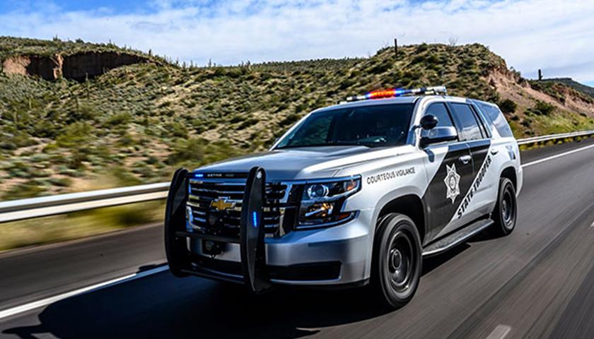 Arizona State Trooper SUV